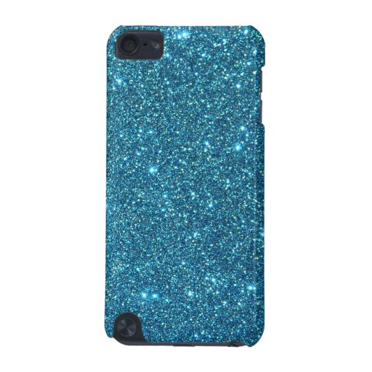Cute Blue Glitter Sparkles iPod Touch (5th Generation)