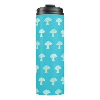 Cute Blue Mushroom Thermal Tumbler