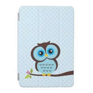 Cute Blue Owl iPad Mini Cover