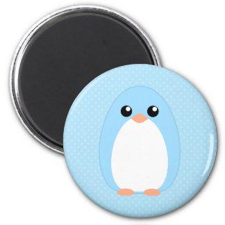 Cute Blue Penguin Refrigerator Magnets