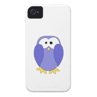 Cute Blue Penguin. Penguin Cartoon. iPhone 4 Case