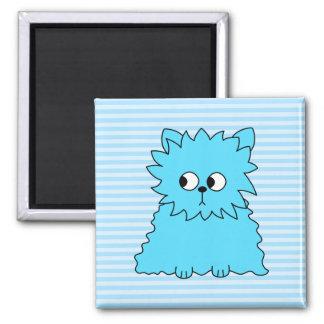 Cute Blue Persian Cat. Refrigerator Magnet