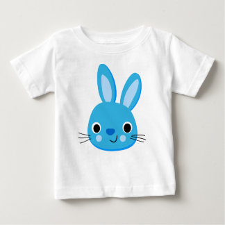 Cute Blue Rabbit Baby Boy T-shirt