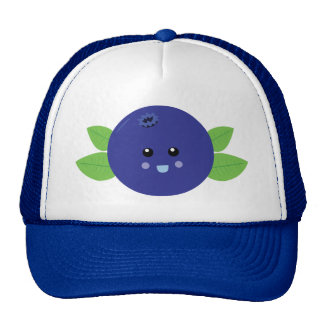 Cute Blueberry Cap