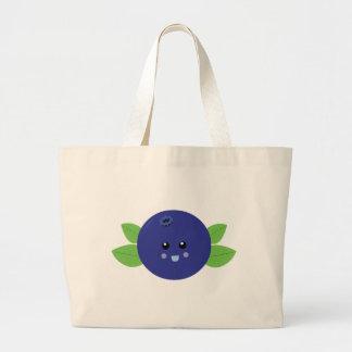 Cute Blueberry Jumbo Tote Bag