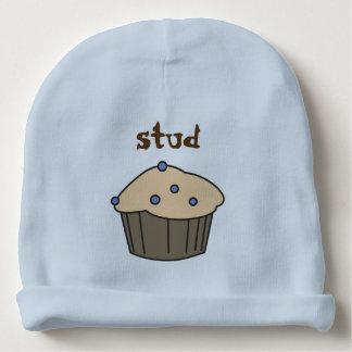 Cute Blueberry Muffin Baby Boy Blue Hat Baby Beanie