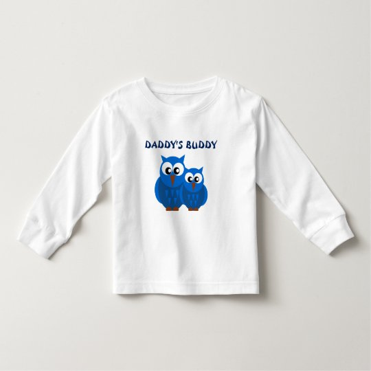 Cute BlueDaddy and Son Owls Toddler T-Shirt