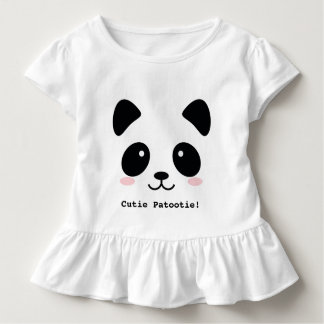 Cute Blushing Panda - add your Custom text T-shirt