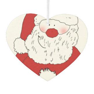 Cute Blushing Santa