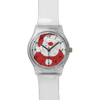 Cute Blushing Santa Watch