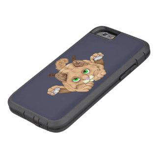 Cute Bobcat Kitten Tough Xtreme iPhone 6 Case
