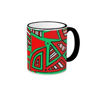 Cute Bold Sophisticated Gorgeous Ringer Mug