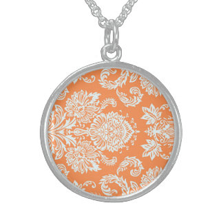 Cute Bold Sophisticated Gorgeous Round Pendant Necklace