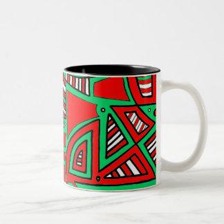 Cute Bold Sophisticated Gorgeous Two-Tone Mug