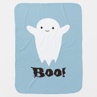 Cute Boo! Ghost Baby Blanket