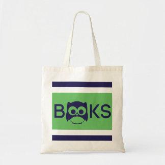 Cute Book Owl Bag Apple Green