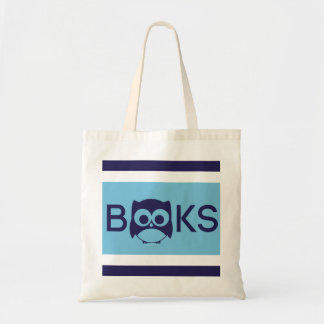 Cute Book Owl Bag | Aqua Blue