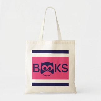 Cute Book Owl Bag Hot Pink