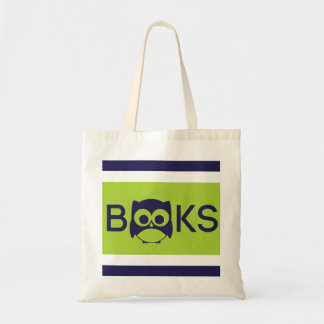 Cute Book Owl Bag Lime Green
