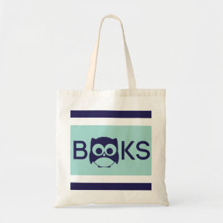 Cute Book Owl Bag Mint Green