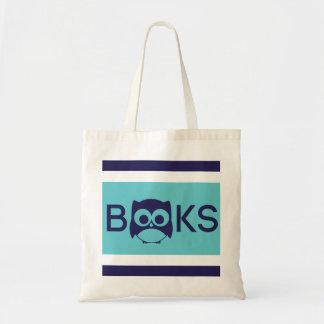 Cute Book Owl Bag Teal