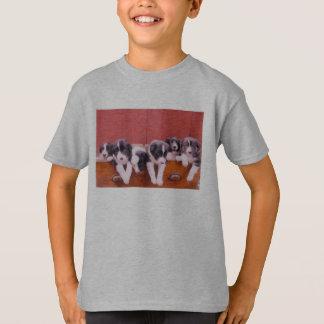 Cute Border Collie Puppies Animal Shirt