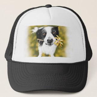 Cute border Collie Trucker Hat