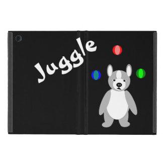 Cute Boston Terrier Juggling puppy Cases For iPad Mini