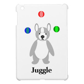 Cute Boston Terrier Juggling puppy Cover For The iPad Mini