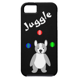 Cute Boston Terrier Juggling puppy iPhone 5 Covers