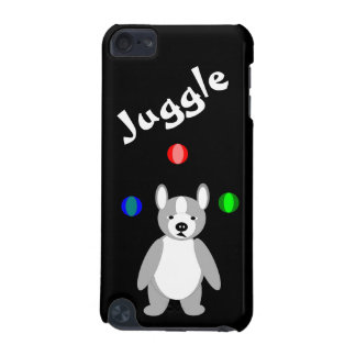 Cute Boston Terrier Juggling puppy iPod Touch 5G Covers