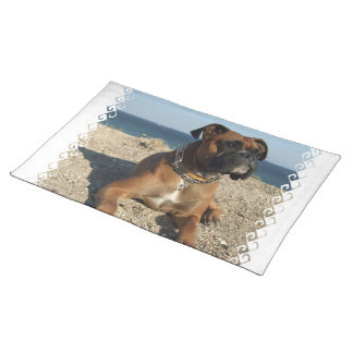 Cute Boxer Dog  Placemat