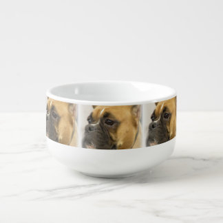 Cute Boxer Dog Soup Mug