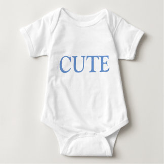 Cute boy blue baby onsie baby bodysuit