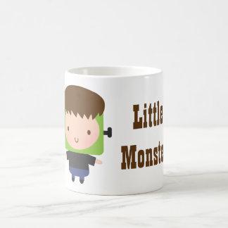 Cute Boy Frankenstein Monster Kids Halloween Coffee Mug
