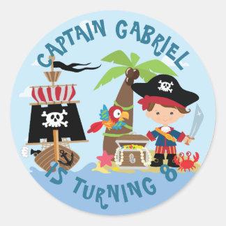 Cute Boy Pirate Stickers