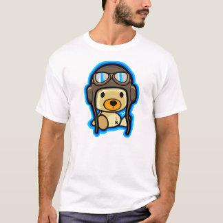 Cute brave teddy bear pilot T-Shirt