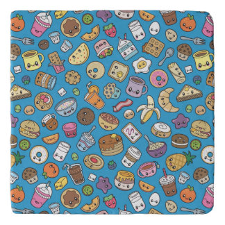 Cute Breakfast Food trivet