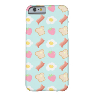 Cute Breakfast Pattern Barely There iPhone 6 Case