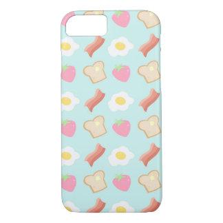 Cute Breakfast Pattern iPhone 7 Case