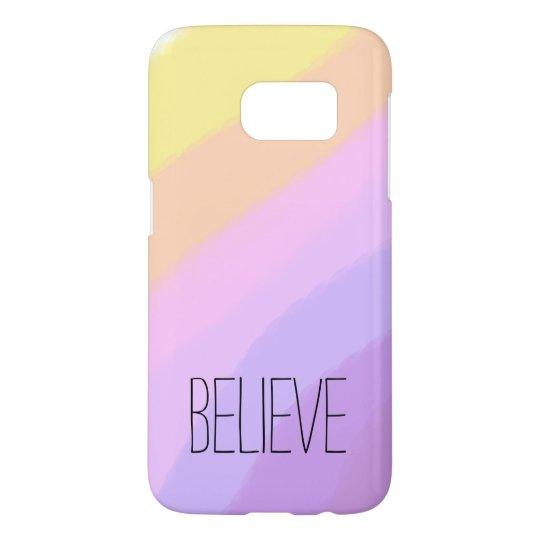 cute bright neon brushstrokes unicorn colours