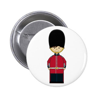 Cute British Royal Guard Badge