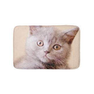 Cute British Shorthair Cat Bath Mat