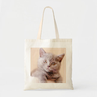 Cute British Shorthair Cat Tote Bag