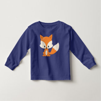 Cute Brown and Ivory Fox Tees