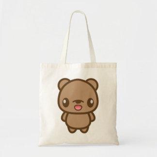 Cute Brown Bear Tote Bag