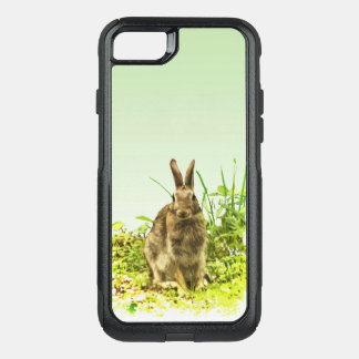 Cute Brown Bunny Rabbit OtterBox iPhone 7 Case