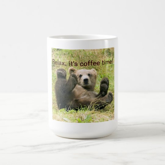 Cute brown grizzly bear cub beautiful photo custom