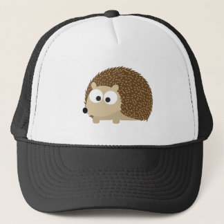 Cute Brown Hedgehog Trucker Hat
