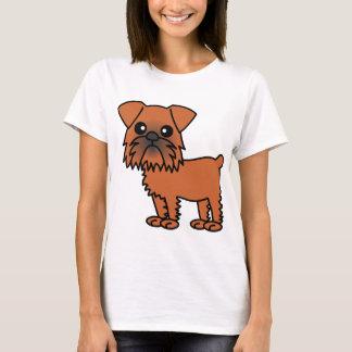 Cute Brussels Griffon Cartoon T-Shirt